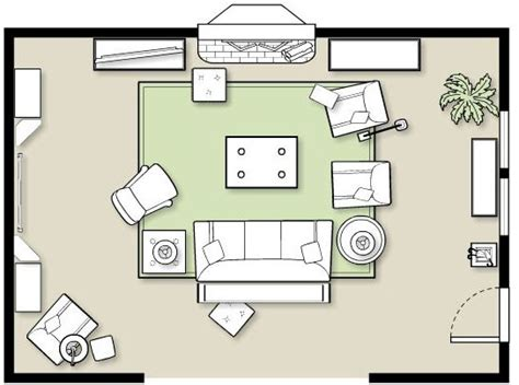 family room floor plans furniture placement in a large room how to decorate