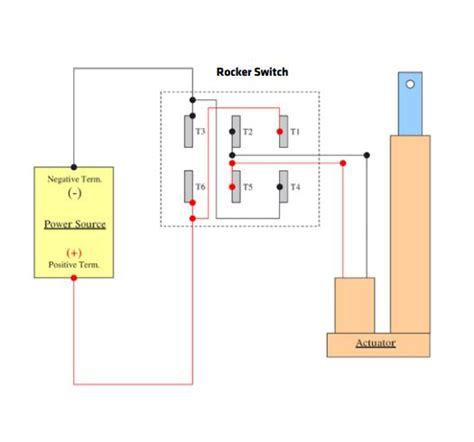 Wire Actuator Wiring Diagram For Two by Rocker Switch And Joystick Wiring W Linear Actuators