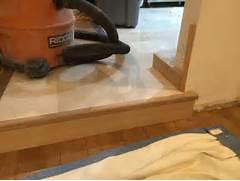 Hardwood Floors Sunken Living Room by Marble Step Transition Into Sunken Living Room Flooring Contractor Talk