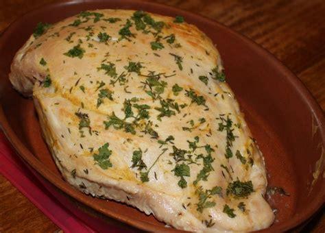 cuisiner un filet de dinde filet de dinde au four cuisson basse température le