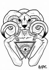 Coloring Baphomet Pages Brutus Buckeye Avpt Drawings Deviantart Printable Popular Cartoons Deviant Searches Recent sketch template