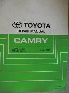 Toyota Camry Repair Manual 2001 Rm915e2
