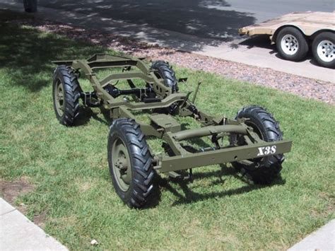 willys  chassis jeep enthusiast