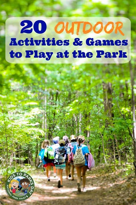 park activities fun games  play edventures  kids