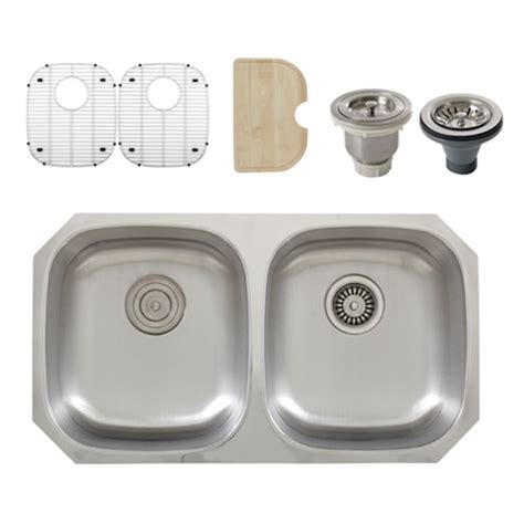 16 stainless steel kitchen sink ticor s205 undermount 16 stainless steel kitchen 8965
