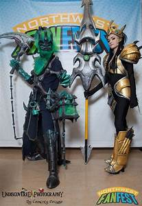 Chromancy and Androoly as Jarvan IV and Thresh from League ...