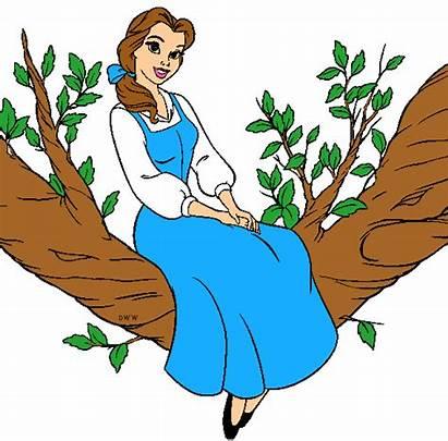 Belle Disney Princess Clipart Clip Fanpop Library