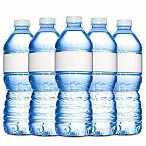 amazoncom water bottle labels 40 blank waterproof With blank water bottle labels waterproof
