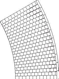 pflaster kurve verlegen gehweg kurve 2 innen silikonformen modellbauversand jutta joachim