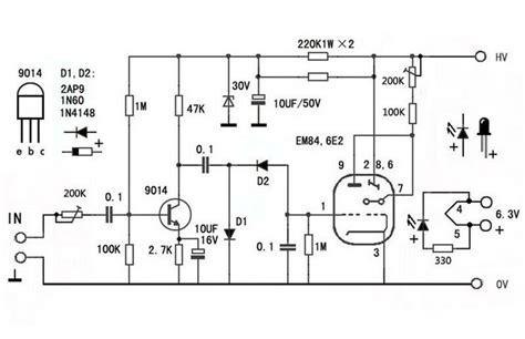 6e2 em84 em87 em800 6uh6 magic eye vu meter audio level indicator board 699954308654 ebay