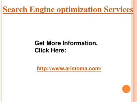 search engine services search engine optimization services