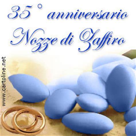 In questa occasione festeggeremo le nozze di corallo. 35° anniversario di matrimonio