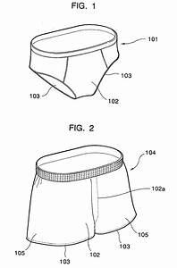 Patent EP1217908B1 - Men's underwear brief - Google Patents