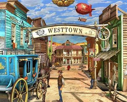 Western Town Cowboy Background West Backgrounds Wild
