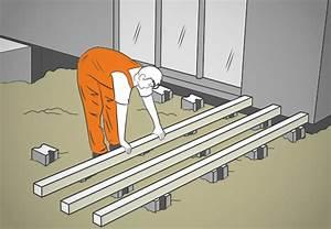 Holz Im Boden Befestigen : terrasse anlegen mit obi klappt s in 6 schritten ~ Lizthompson.info Haus und Dekorationen