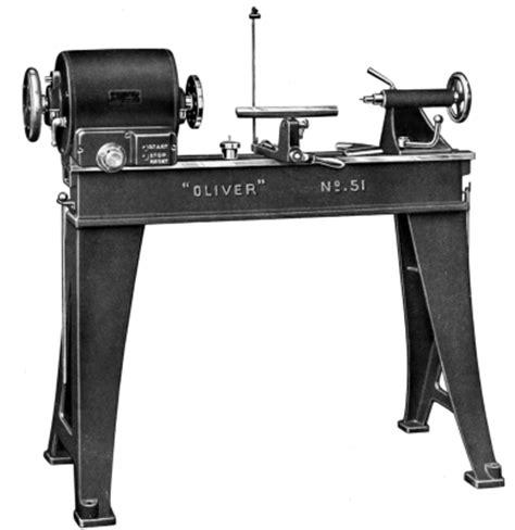 oliver   wood lathe instructions  parts manual