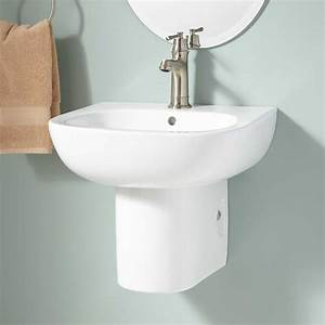 Langlade Wall-mount Semi-pedestal Sink