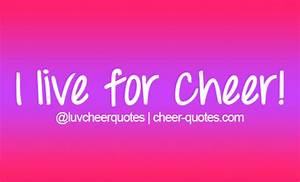 cheer quotes on Tumblr