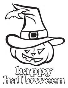 Happy Halloween Jack O Lantern Coloring Pages