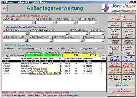aussenlagerverwaltung fuer access   freewarede