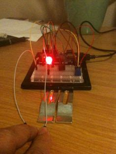 diy polygraph machine detect lies  tin foil wire