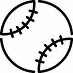 Baseball Icon Svg Ball Sysa Match Sport