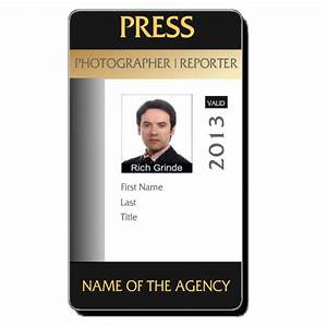 photographer id card template 28 images free vertical With photographer id card template