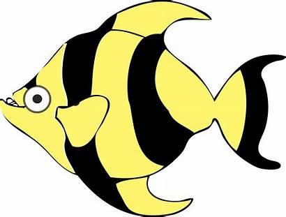 Fish Cartoon Clipart Vector Tropical 1190 1995