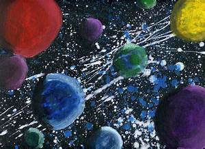 Paint Space | Art Ed Project: Outer Space Imagery | Pinterest