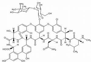 Structure of vancomycin. | Download Scientific Diagram