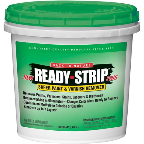 Readystrip 1 Qt Safer Paint And Varnish Remover