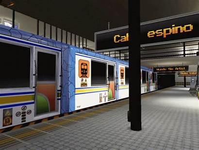 Subway Metro Train Items