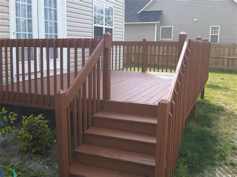 deck stain coverage fence deck staining
