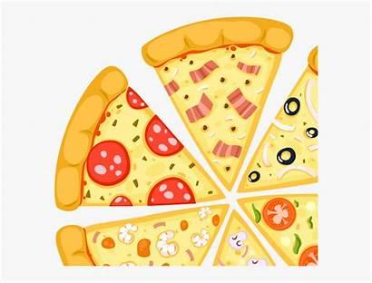 Pizza Cheese Cartoon Transparent Vectores Pizzas Netclipart