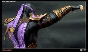 Full Color Mortal Kombat Rain Statue Images - The Toyark ...