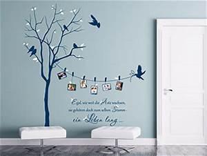 Wandtattoo Baum Mit Bilderrahmen : originelle wandtattoos zur kreativen wandgestaltung ~ Eleganceandgraceweddings.com Haus und Dekorationen