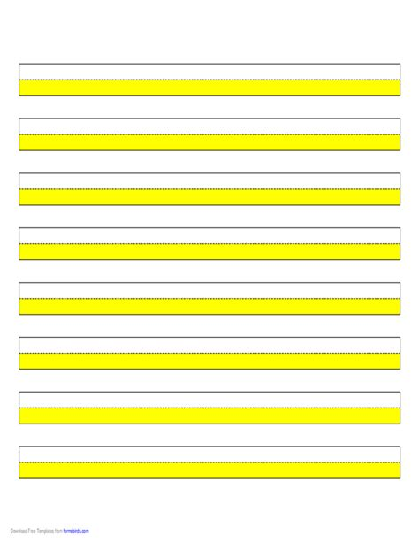 highlighter paper yellow  narrow lines