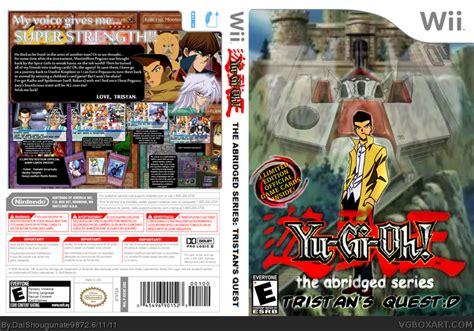 yu gi   abriged series wii box art cover