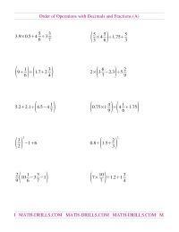 integers bodmas worksheet grade  finest worksheet