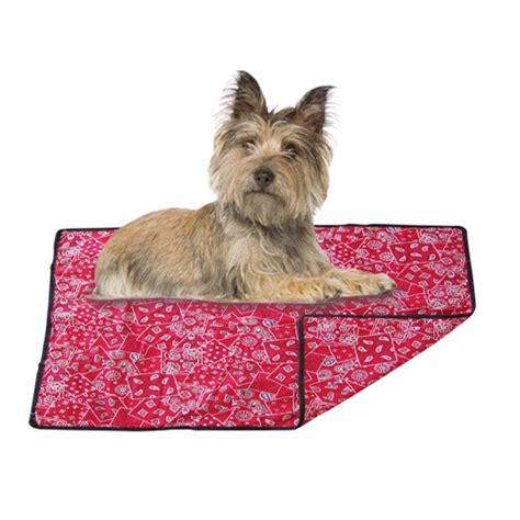 tapis rafrachissant pour chien couchage pour chien chiens chez wanimo