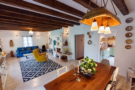 Designer Details Colorful Home by Colorful Home In Romania Revives Traditional Design
