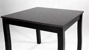Table carrée extensible Ruben // Catalogue BUT 2012 2013 YouTube