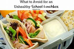 How to Avoid an Unhealthy School Lunch | The eMeals Blog