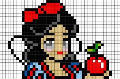 Pixel Snow Disney Princesse Dessin Brik Pixelart