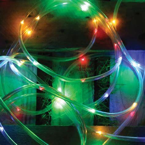 bright garden solar rope light 5 metre multi coloured
