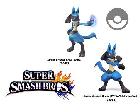 Lucario (super Smash Bros. Evolution) By Delvallejoel On