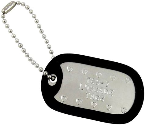 personalized golf bag tags custom embossed military