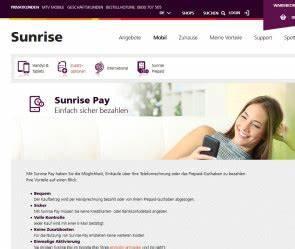 Handy Aufladen Per Rechnung Bezahlen : bei sunrise bequem per handy rechnung bezahlen ~ Themetempest.com Abrechnung
