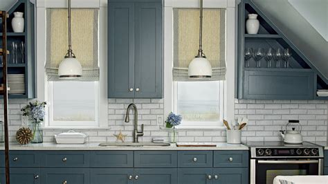 slate blue kitchen cabinets 11 beautiful blue kitchens coastal living 5309