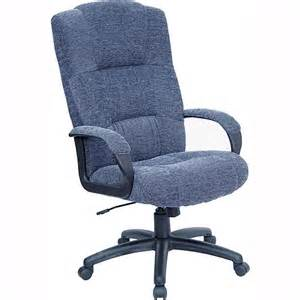 fabric executive high back office chair gray walmart com